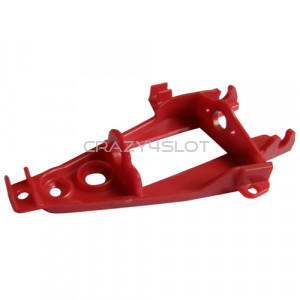 Triangular Inline Extra Hard Red Motor Mount