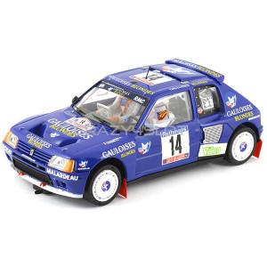 Peugeot 205 T16 Tour de Corse 1985 Gauloises