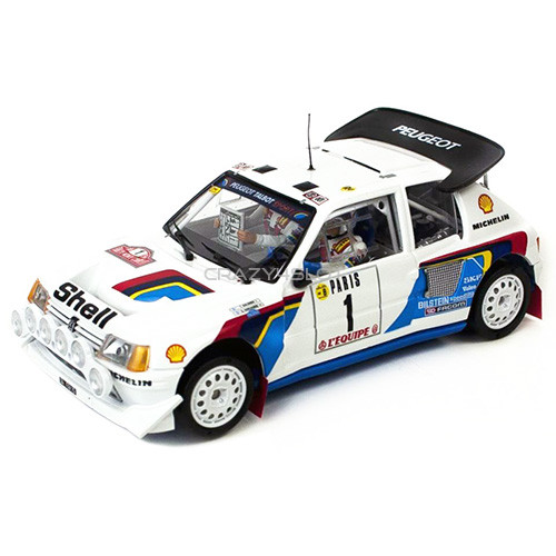 Peugeot 205 T16 EVO2 Montecarlo 1986 Salonen