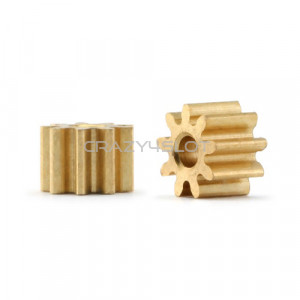 Inline Brass 9 teeth External 4.2mm Internal 1.5 mm