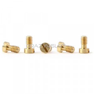 Brass Metric Screws M2.2 x 3.8mm