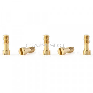 Brass Metric Screws M2 x 5mm
