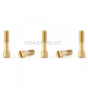Brass Metric Screws M2 x 7mm