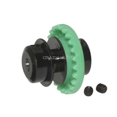 Nylon Inline Crown 24 Teeth Green