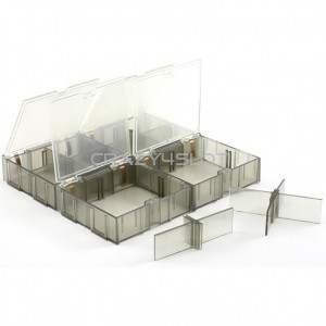 Large Box Container 70x70mm (x4)