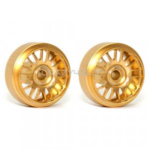 BBS Gold Wheel 16.5 x 9 mm