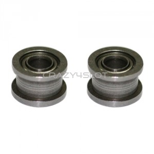 Steel Ball Bearings Double Flanged 2.38mm