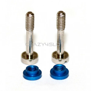 Kit Suspension Plated Screws and Aluminium Nuts