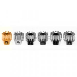 Removable Brass Pinion 10z  6.5mm Gold