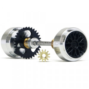Rear Axle Kit Anglewinder 32t Large Hubs