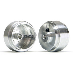 Aluminium Wheels 17.3x8.2mm Short Hub