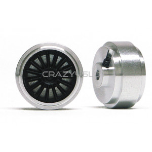 Aluminium Wheels 15.8x8.2mm Short Hub