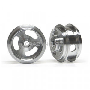 Aluminium Wheels 15.8x8.2mm Short Air Hub Holed