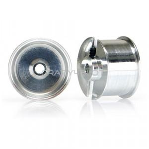 Aluminium Wheels for Sponge Tyres Eq. 15.8mm