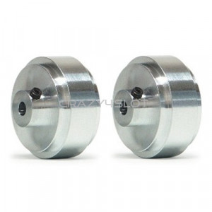 Aluminium Wheels 17.3x8.2mm