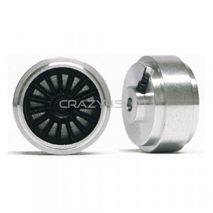 Aluminium Wheels 16.5x8mm