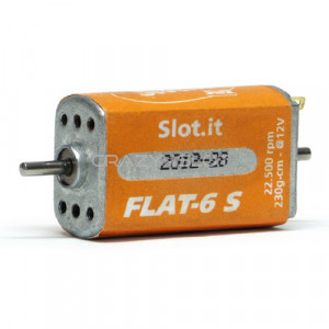 Orange Flat-6 S 22.500 rpm Open/Closed Can Motor