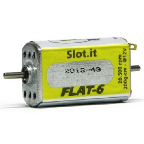 Yellow Flat-6 20.500 rpm Open/Closed Can Motor