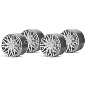 Wheel Inserts BBS Silver for F1 Hubs