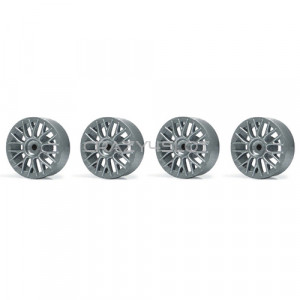 Wheel inserts BBS Silver for 15.8mm Hubs