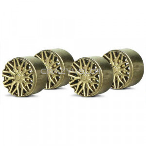 Wheel Inserts BBS Gold for F1 Hubs