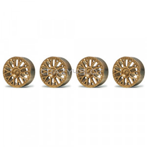 Wheel inserts BBS Gold for 15.8mm Hubs