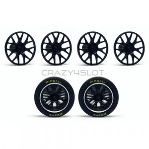 Wheel Inserts Porsche 911 GT1 EVO98 and Lola