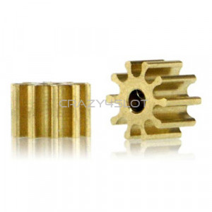 Brass Pinion 10 Teeth 5.5mm Internal 1.5mm