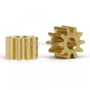 Brass Pinion 10 Teeth 6mm