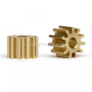Brass Pinion 11 Teeth 6mm