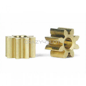 Inline Brass Pinion 8 Teeth 5.5mm