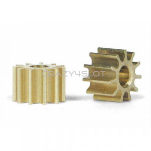 Inline Brass Pinion 10 Teeth 5.5mm