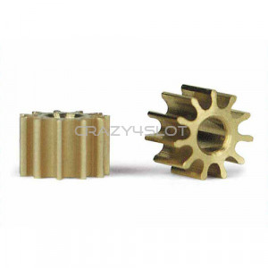 Inline Brass Pinion 11 Teeth 5.5mm