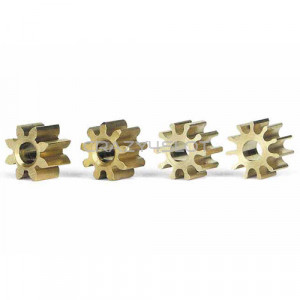 Inline Brass Pinion Mix Set 5.5mm
