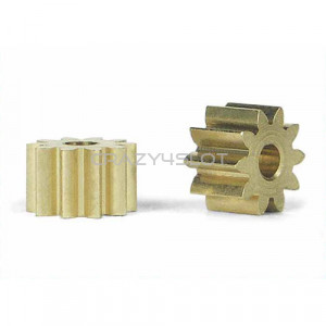 Sidewinder Brass Pinion 10 Teeth 6.5mm