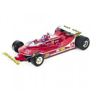 Ferrari F1 312 T4 GP Monaco 1979 Giles Vileneuve