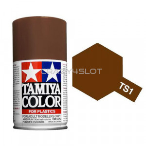 Spray Tamiya TS1 Red Brown