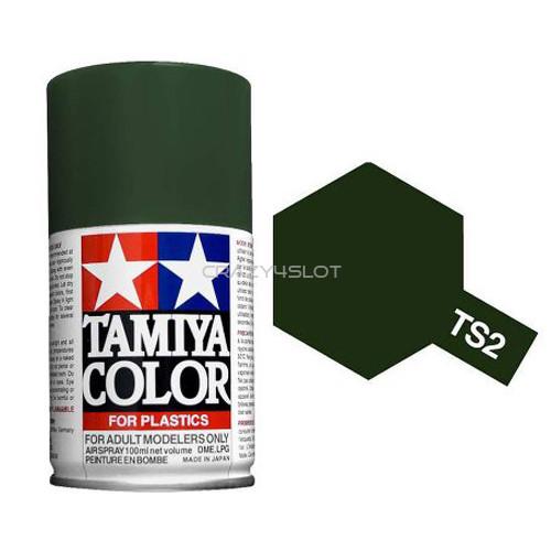 Spray Tamiya TS2 Dark Green