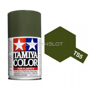 Spray Tamiya TS5 Olive Drab