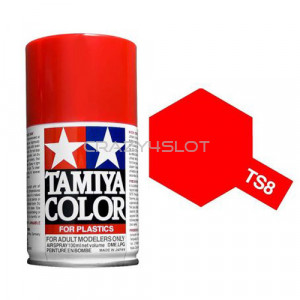 Spray Tamiya TS8 Italian Red