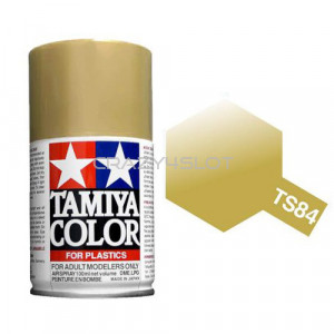 Spray Tamiya TS84 Metallic Gold