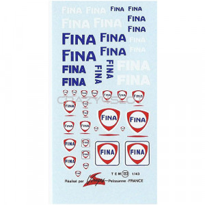 Fina Waterslide Decals 1:43