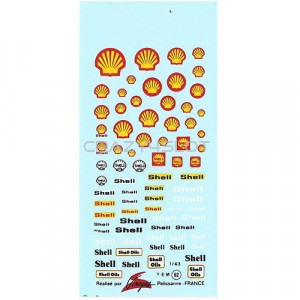 Shell Waterslide Decals 1:43